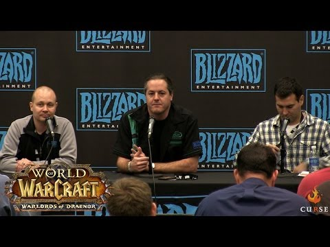 World of Warcraft: Warlords of Draenor - Fan Q & A - Blizzcon 2013
