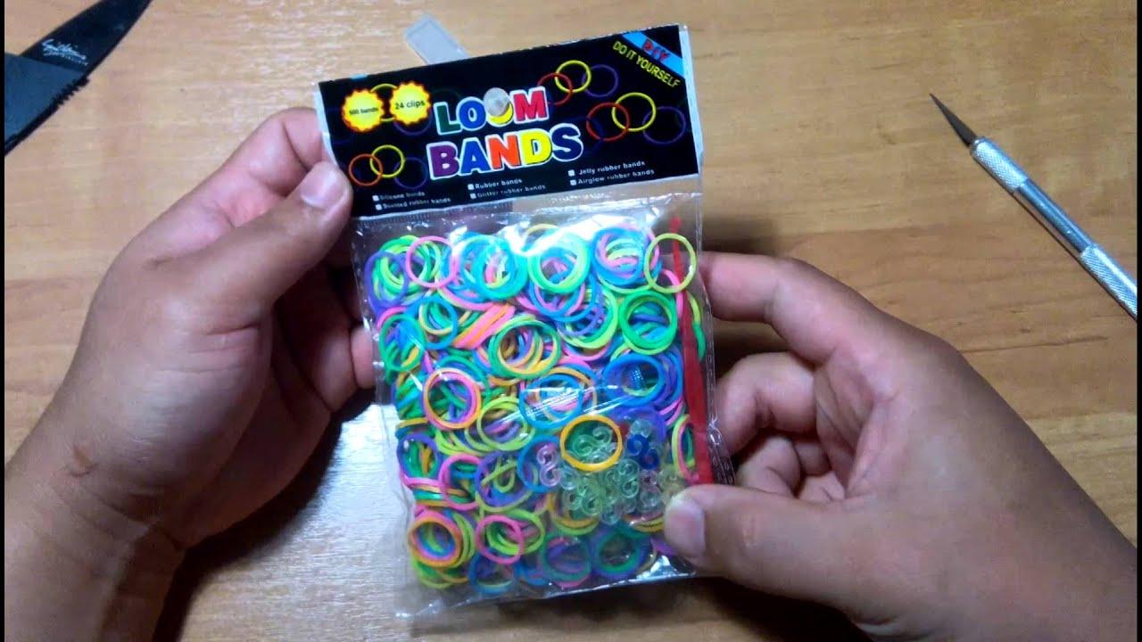 Посылки с резинки для плетения