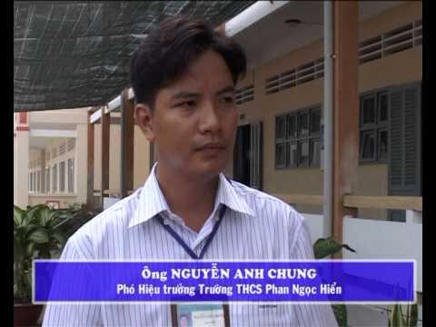 Trường THCS Phan Ngọc Hiển phấn đấu đạt chuẩn quốc gia năm 2012.avi