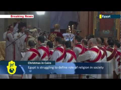 Egyptian Coptic Christmas: Christians celebrate first Christmas under President Morsi