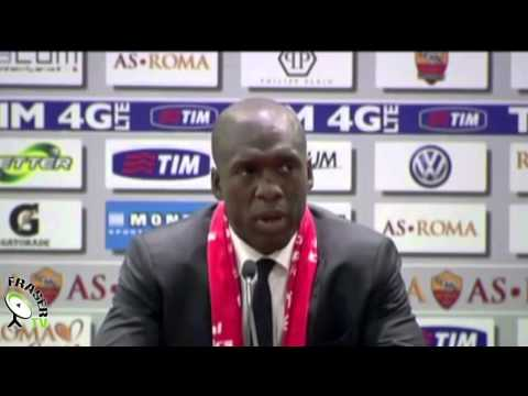 AC MILAN: Seedorf post Roma