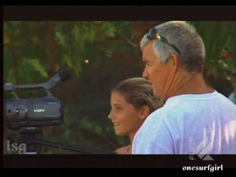 Quincy Davis @ Fuel TV-12 year old girl shreds surf