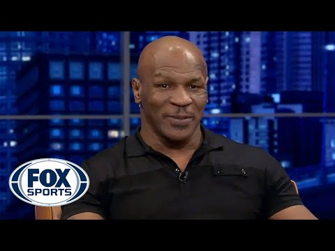 Mike Tyson joins Fox Sports Live - part 1