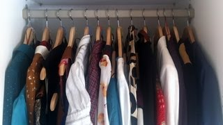 Idea para aprovechar espacio en el armario