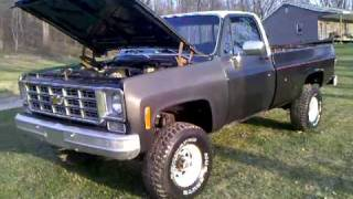 78 Chevy Scottsdale With 5.3 Vortec Project Update