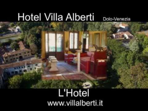 l'Hotel Villa Alberti e la Riviera del Brenta