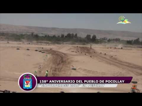 ENDUROCROSS 2016 POR 158� ANIVERSARIO DEL PUEBLO DE POCOLLAY