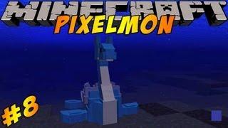 Minecraft Pokemon Mod!! Pixelmon Ep #8 Water Gym!