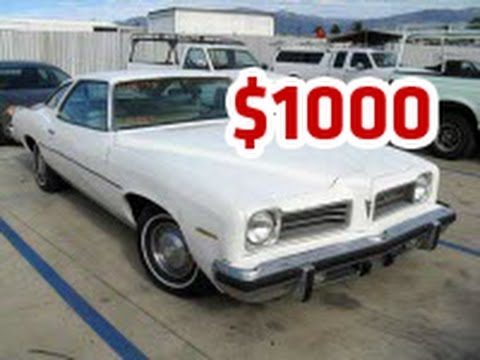 Used Cars Under 1000 Dollars, Used Car Under 1000 For Sale - YouTube