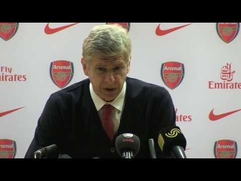 Arsene Wenger after Arsenal v Crystal Palace - 2.2.2014