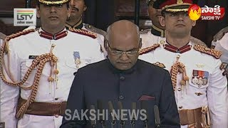 Ram Nath Kovind Takes Oath As 14th President of India..
