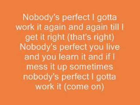 song lyrics to hannah montana nobody 39 s perfect and downloa youtube. Black Bedroom Furniture Sets. Home Design Ideas