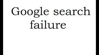 Chrome Google Search Failure / Www.google.hu/webhp