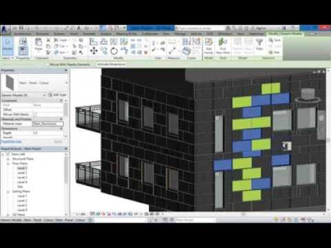 BIMobject Steni Facade cladding tool for Revit
