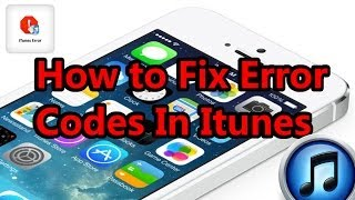 How To Fix Error Code 3194 ,1600 , 21 , 1 On Itunes And