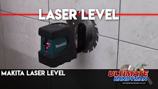 Makita SK102 cross line laser level review