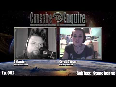 Ep. 002 - Conspire to Enquire Podcast - Stonehenge