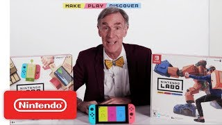 Nintendo Labo feat. Bill Nye - Make, Play and Discover