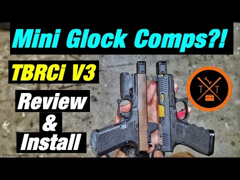 TBRC Mini Glock Compensator Review! Best Glock Mods for Carry!?