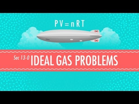 Ideal Gas Problems: Crash Course Chemistry #13
