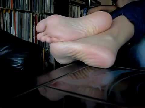 My wifes sexy feet and soles - YouTube