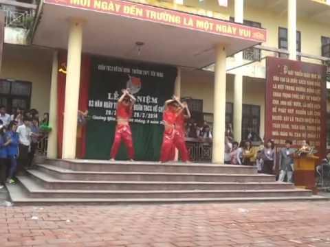 Nhảy Con Bướm Xuân 12a4 Trường THPT Yên Hưng   Quảng Ninh