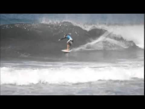 July 09 2014 Surfing Playa Hermosa Costa Rica