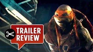 Instant Trailer Review - Teenage Mutant Ninja Turtles Trailer #2 (2014) - Megan Fox Movie HD