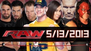  WWE RAW Monday 13/5/2013   HD