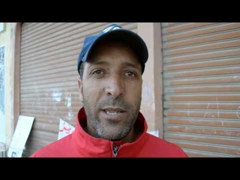 بيوكرى+(فيديو) :اعتصام مفتوح لعمال زراعيون أمام مديرية التشغيل باشتوكة