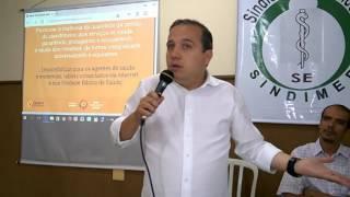 SINDIMED PROSSEGUE COM OS DEBATES PARA A PREFEITURA - PEDRINHO VALADARES