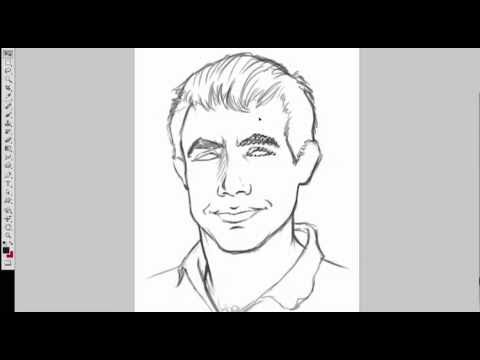 Adobe Photoshop CS5 Digital Portrait (Part 1 of 4)