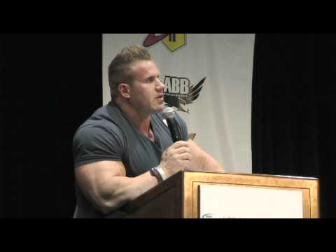 Mr. Olympia Jay Cutler at the LA Fit Expo 2011 - Pro Bodybuilder Jay Cutler Advice Part II
