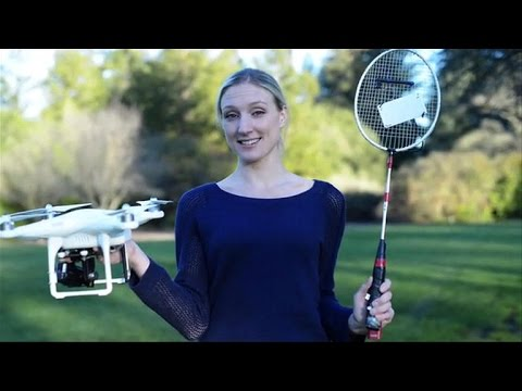 Zyro, a drone you can play tennis with, Ep. 193