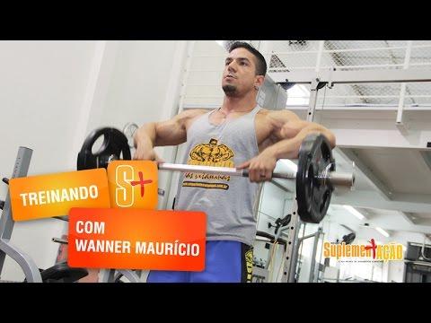 Treino de ombros com Wanner Maurício