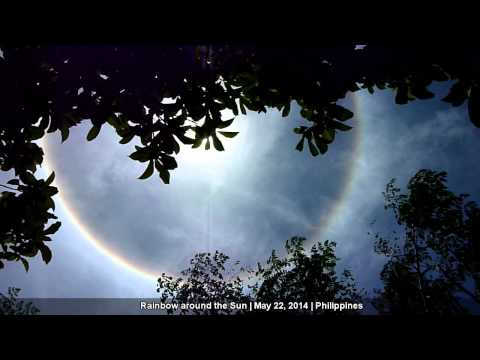 Rainbow around the Sun | Philippines