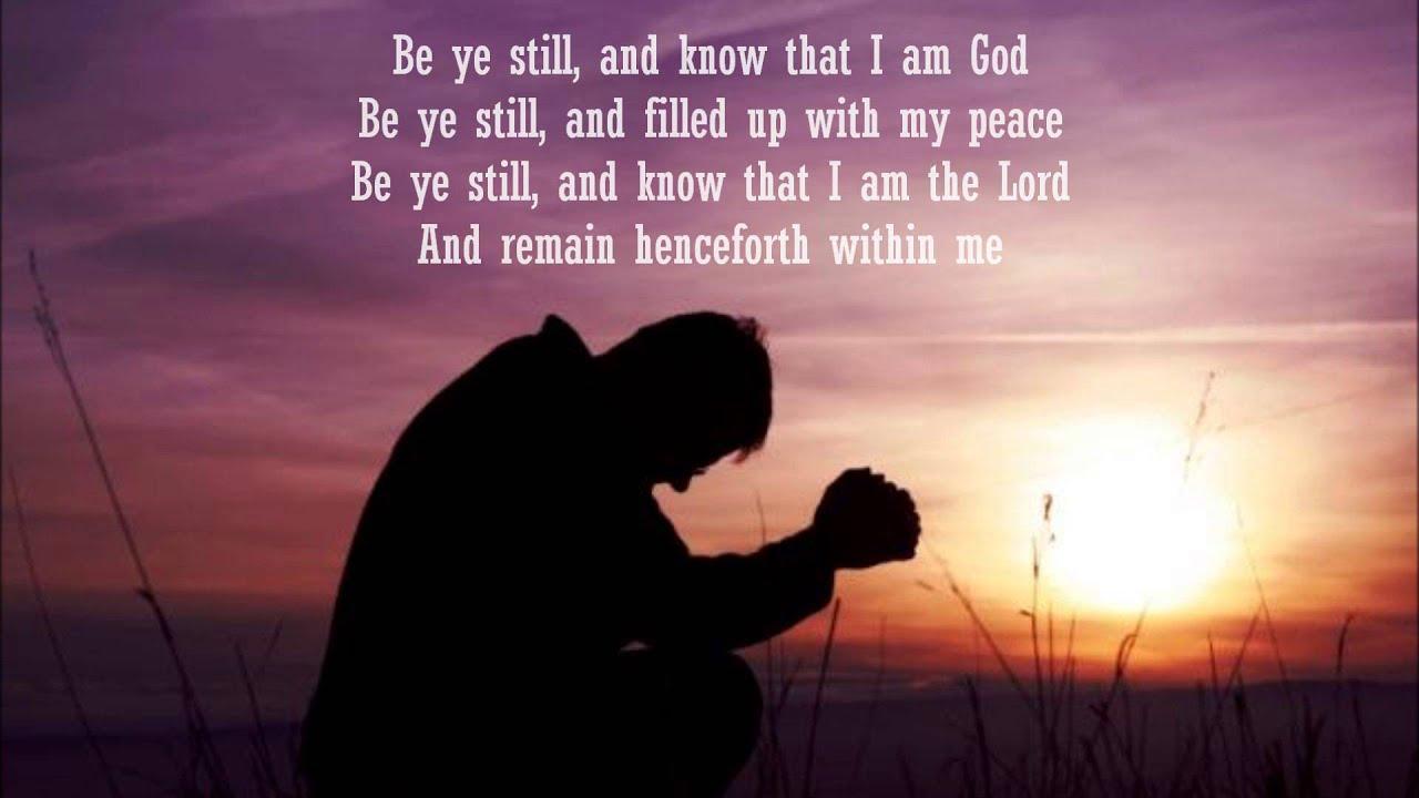 Cedarmont Kids - Be Still and Know That I Am God Lyrics