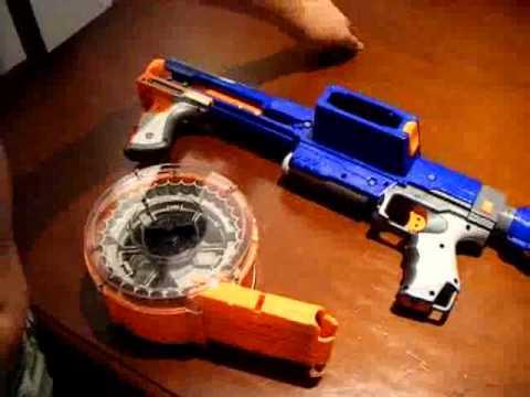 Lego Guns and Nerf Guns - Pistola y Metralleta Lego y NERF