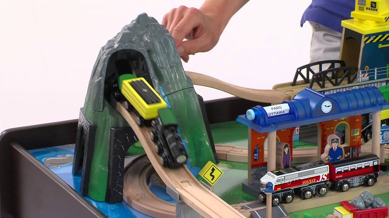 "Mountain Rock Train Table at Toys""R""Us - YouTube"