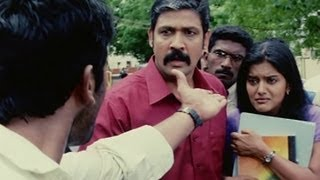 Accident causes scuffle between Ashok and Sampath