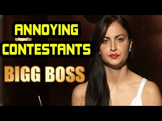 Bigg Boss -  Elli Avram talks about most ANNOYING contestants in the house