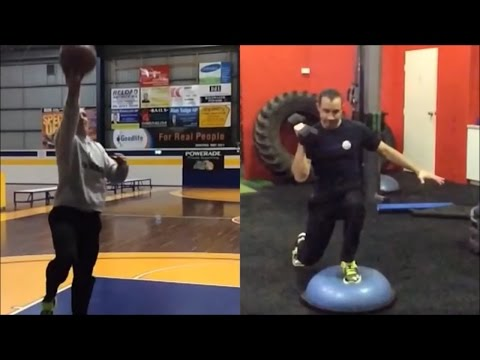 Basketball Core Strength Exercises To Prevent Injury & Improve Balance