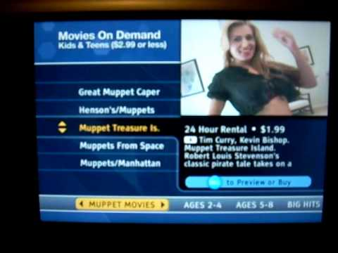 Time Warner On Demand Kids Adult Menu Youtube