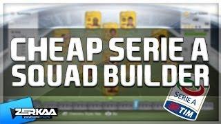 Cheap 16K Serie A Squad Builder | FIFA 14