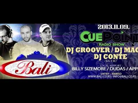 Cue Point Radio show BALI DISCO BAR 09.11.2013