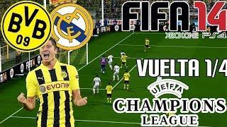 FIFA 14| UEFA Champions League| Borussia Dortmund Vs