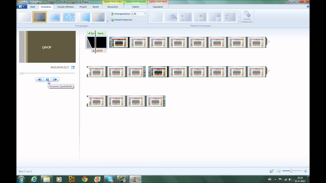 Hoe werkt Windows Movie Maker - YouTube