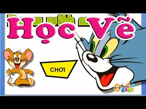 Học Vẽ VS Tom và Jerry (Trò Chơi Thông Minh)