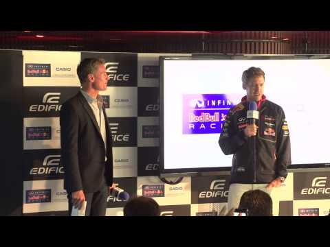 Casio Edifice 2014: David Coulthard Interviews Sebastian Vettel