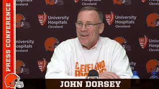 GM John Dorsey 'Gregg Williams Is Doing a Real Nice Job'   Cleveland Browns